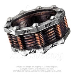 Alchemy Gothic R149 Hi-Voltage Toric Generator Ring