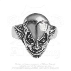 Alchemy Gothic AG-R213 M'era Luna Evil Clown Ring