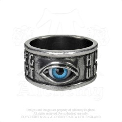 Alchemy Gothic AG-R215 Ouija Eye ring