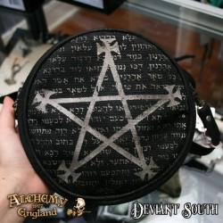 Last Chance! Alchemy Gothic LG73 Magic Purse - Leather & Canvas