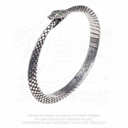 Alchemy Gothic A121 Sophia Serpent bangle