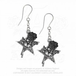 Alchemy Gothic E402 Ruah Vered earrings (pair)