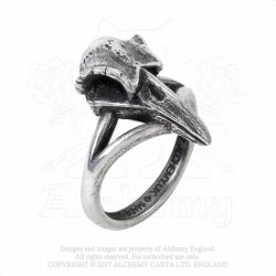 Alchemy Gothic AG-R220 Rabeschadel Kleiner ring