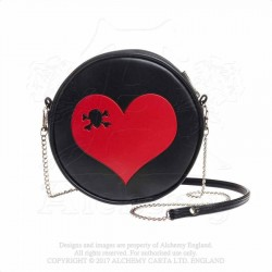Alchemy Gothic GB1 Heart Skull bag