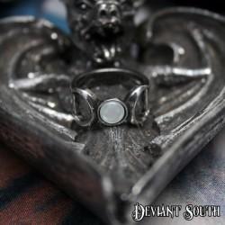 Pretty Silver Frame LOVE 25x18mm Cameo Necklace