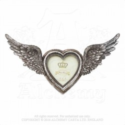 Alchemy Gothic SA1 Winged Heart Photo Frame