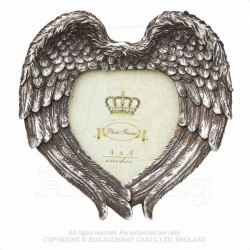 Alchemy Gothic SA7 Winged Heart Photo Frame