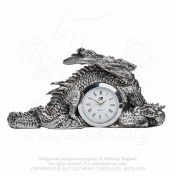 Alchemy Gothic V46 Dragonlore Clock