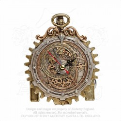 Alchemy Gothic V50 Anguistralobe Desk Clock