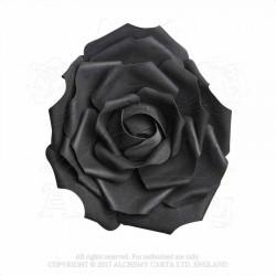 Alchemy Gothic ROSE3 Large Black Rose Head