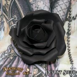 Alchemy Gothic ROSE4 Small Black Rose Head