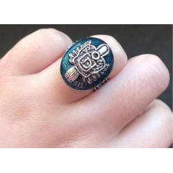 The Vampire Diaries Salvatore Sun Family Crest Damon Ring