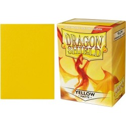 Dragon Shield Matte Standard Sleeves - Yellow (100)