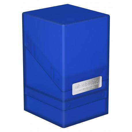 Ultimate Guard Monolith Deck Case 100+ Std Size Sapphire