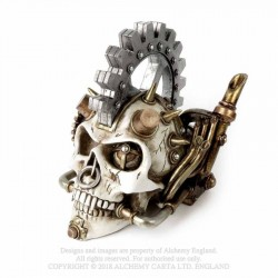 New Release! Alchemy Gothic V73 Steam Head Skull