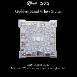 Stand Triple Goddess White
