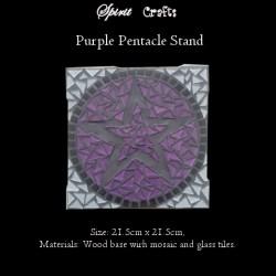 Stand Pentacle Purple