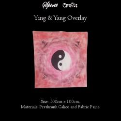 Altar Overlay Cloth Yin Yang
