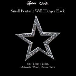 Pentacle Wall Hanger Small Black