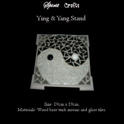 Stand Yin Yang Black & White
