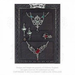 Alchemy Gothic FRAME1 Black Jewellery Display Board