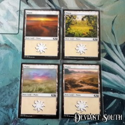 Magic: The Gathering MTG Singles - Core Set 2019 (M19) - Plains (4 pack)