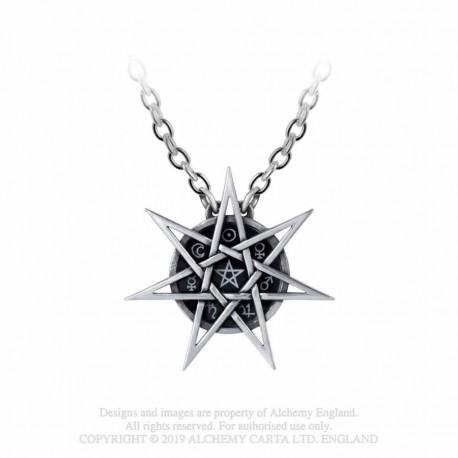 New Release! Alchemy Gothic P878 Elven Star necklace