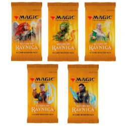 Magic: The Gathering Guilds of Ravnica Booster (5 Packs)
