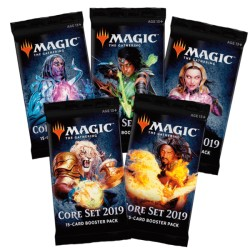 Magic: The Gathering Core Set 2019 Booster Pack (5 packs)