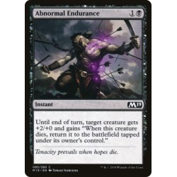 Magic: The Gathering MTG Single - Core Set 2019 (M19) - Abnormal Endurance
