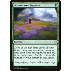 Magic: The Gathering MTG Single - Dominaria - Adventurous Impulse