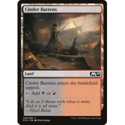 MTG Single - Core Set 2019 - Cinder Barrens