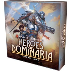 Magic: The Gathering Heroes of Dominaria Board Game Standard Edition