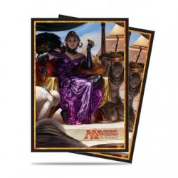 Ultra PRO Deck Protector Sleeves - MTG - Amonkhet 2017 - V2 Liliana (80)