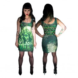 Kreepsville Night of the Living Dead Tank Dress - US Size: Small