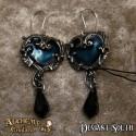 Alchemy Gothic E414 Affaire du Coeur earrings (pair)