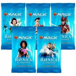 Magic: The Gathering Ravnica Allegiance Booster (5 packs)