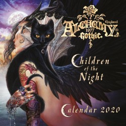 New Release! Alchemy Gothic CAL20 Children of the Night 2020 Wall Calendar
