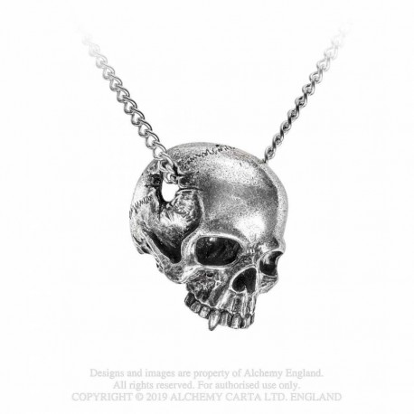 New Release! Alchemy Gothic P886 Remains necklace