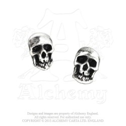 Alchemy Gothic E76 Death Studs Stud Earrings (pair)