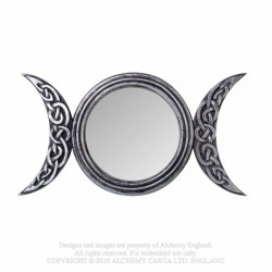 New Release! Alchemy Gothic V87 Triple Moon Mirror