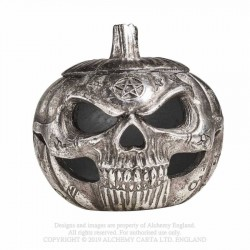 New Release! Alchemy Gothic V93 Pumpkin Skull Pot