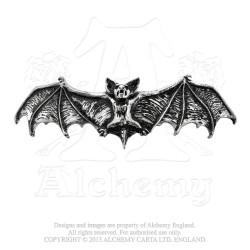 Alchemy Gothic HH1 Darkling Bat Hair Slide