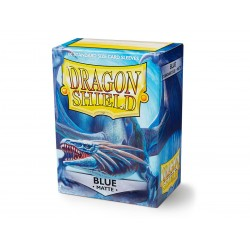 Dragon Shield 100 Standard Sized Card Sleeves Matte - Blue