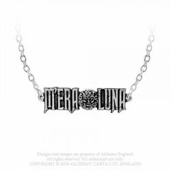 New Release! Alchemy Gothic P899 M'era Luna Moon Logo necklace