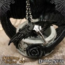 Alchemy Gothic P745 Ravenger pewter pendant necklace