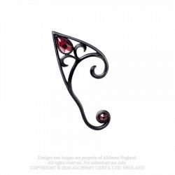 New Release! Alchemy Gothic E446R Elvyn Earwrap (Black) (Right Ear)