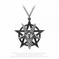 New Release! Alchemy Gothic P906 Baphomet necklace