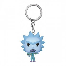 Funko Pocket Pop! Keychain: Rick and Morty - Hologram Rick vinyl figure