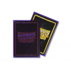 Dragon Shield 100 Standard Sized Card Sleeves Matte - Clear Purple